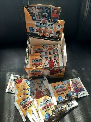 New Topps Match Attax Extra Season 19/20 Sealed 34 Packets