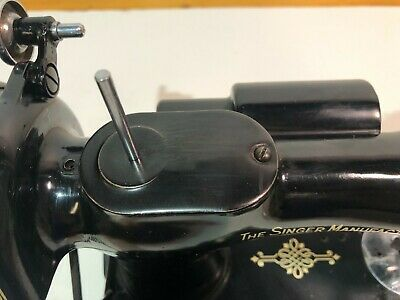 SPOOL PIN PLATE x Sewing Machine Singer Featherweight 221-1 AJ from 1949