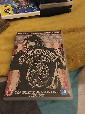 Sons of Anarchy - Season 1 (DVD, 2009, 4-Disc Set)