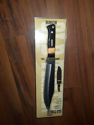 "Schrade Old Timer 15.5"" Bowie with Sheath ""NEW"""