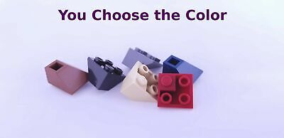Lego 3x3 Slope Double Convex Dark Blue Purple Red Tan Sand Green YOU CHOOSE