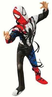 Venomized Spider-man Muscle BOOT TOPS Halloween Costume Boys 4 5 6 Small