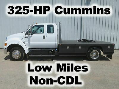 F650 Cummins 325-Hp 11-Ft Flatbed 5Th Wheel Tow Toy Trailer Hauler Truck Non-Cdl