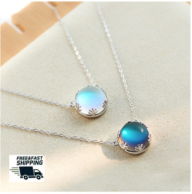 Aurora Tears 925 Sterling Silver Initial 26 Letter Customized Birthstone Necklace Women Crystal Mystic Rainbow Topaz Pendant Personalized Name Birthday Jewelry
