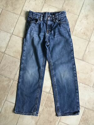 Polo Ralph Lauren Boys Blue Denim Jeans Size Age 6 Years Adjustable Waist