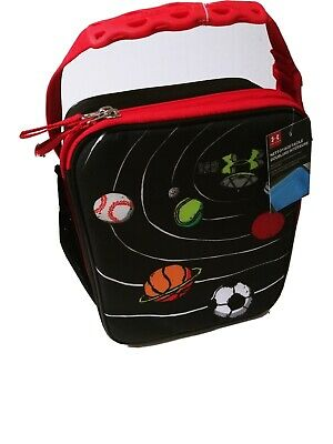 Under Armour Red Camo Zip Around Lunch Box Insulated Crush Resistant NWT