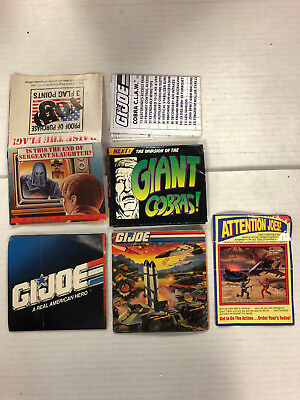 GI Joe Top Secret envoi catalogue Vintage BROCHURE LIVRET