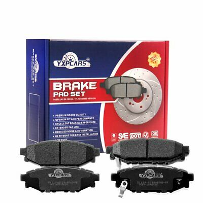 Pro Stop Ceramic Brake Pads Front and Rear For 2014-2018 Subaru Forester 2.5L