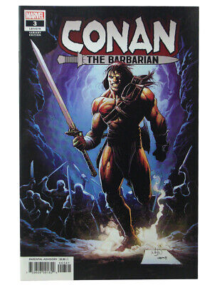 CONAN THE BARBARIAN 3 2019 JT CHRISTOPHER ACTION FIGURE VARIANT NM