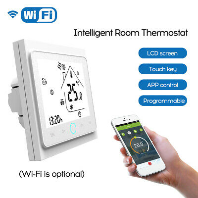Four Pipe Intelligent Room Thermostat Digital Programmable ...