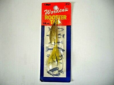 Wordens New FRSP Rooster Tail Spinners 1//4 oz 2 x Yakima Bait