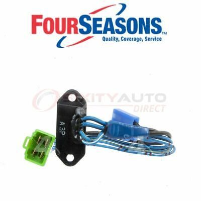 HVAC Blower Motor Resistor-Resistor Block 4 Seasons fits 85-95 Suzuki Samurai