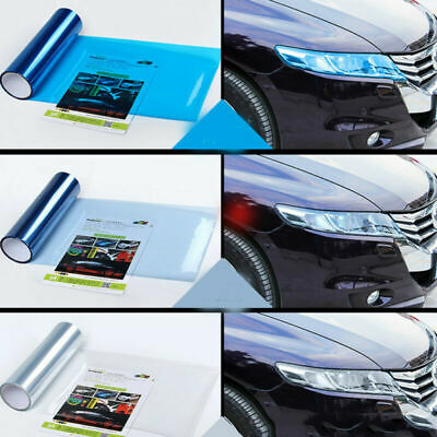 Car Tint Headlight Taillight Fog Light Vinyl Film Sticker Cover Protector Acces