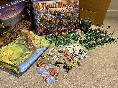 Vintage battle masters board game replacement parts movement bases X6 vgc