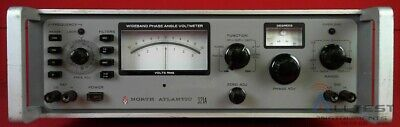 North Atlantic 321A Wideband Phase Angle Voltmeter