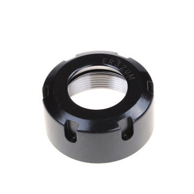 ER20 A Type Collet Clamping Nut for CNC Milling Chuck Holder Lathe Black 34xJH4