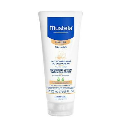 Mustela Nourishing Lotion With Cold Cream 6.8 oz 200 ml. Baby Skin Care Product