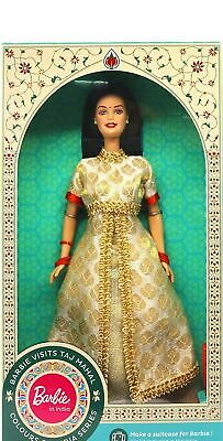 Free Ship  Worldwide Barbie Doll Visits  Ajanta Caves In India Color May Vary