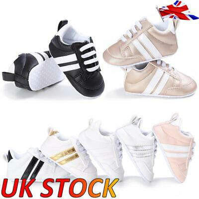 Boys Girls Kids Trainers Shoes Sneaker Children Infant Toddler Casual Shoes UK