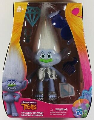 DreamWorks Trolls Guy Diamond 9-Inch Action Figure Hasbro Ages 4+