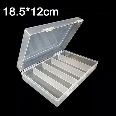 For 27mm 30mm Coin Case Capsules Holder Clear Plastic Round Storage Box Gift Set