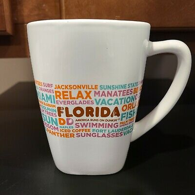 Chicago Destinations 12 oz Ed 2016 BRAND NEW IN BOX Dunkin Donuts Ltd Cup Mug