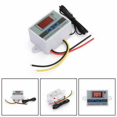 Digitale LED Temperatura Controllore XH-W3001 Termostato Regolatore Sonda IT