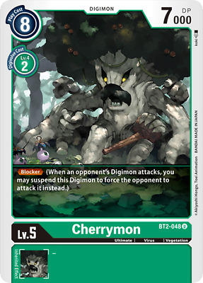 River of Power bt2-095 DIGIMON card game Uncommon