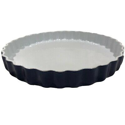 "Emile Henry Quiche Pie Baking Dish Made in France 31-G2 LR7 5.5/"" Ceramic Oven"