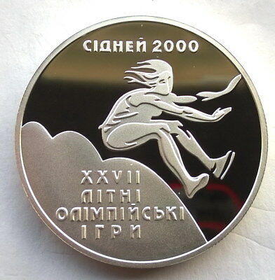 XXXII Olympic Games in Tokyo Japan Ukraine 2020 Silver 1 Oz Proof 10 UAH Coin