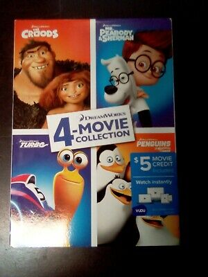 Home//Croods//Mr Peabody Sherman JS EXCL DVD