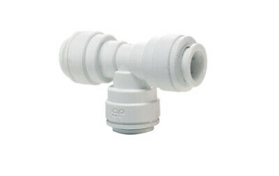 """John Guest PP0212W 3/8"""" Union T Fitting, Push to Connect - Speedfit"""