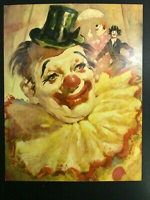 WILLY THE CLOWN SMALL POSTER MENTAL HEALTH FREE SHIPPING  #14-707  RC18 A