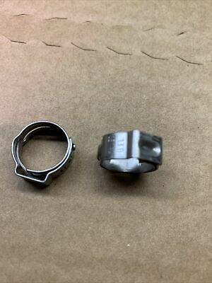 Single Ear O-Clips Clamps OETIKER 167-7.0mm 22.6mm Stainless Steel