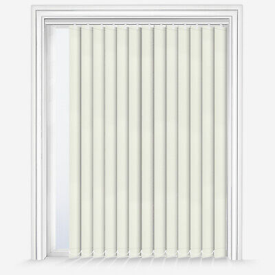 Blackout PVC replacement vertical blind slats//panes in Shanghai Amethyst 89mm