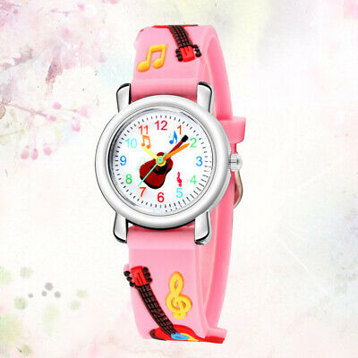 1pc Lovely Funny Chic Students Watch Wristwatch for Girls Toddler Boys