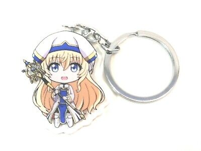"2/"" Priestess Goblin Slayer Anime Acrylic Keychain Key USA"