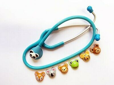 Spirit Pediatric Stethoscope with Animals | Blue | Limited Stock For This Price