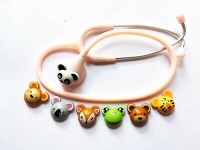 Spirit Pediatric Stethoscope with Animals Pink | Limited Stock For This Price