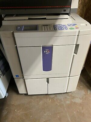 RISO MZ790U 2 Color Networked Duplicator Printer USB MZ790 w/ 4 Drums ONLY 705K
