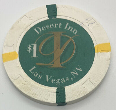 Desert Inn - $1 Casino Chip - Las Vegas NV Nevada - Paul-son H&C 1997 CG013953