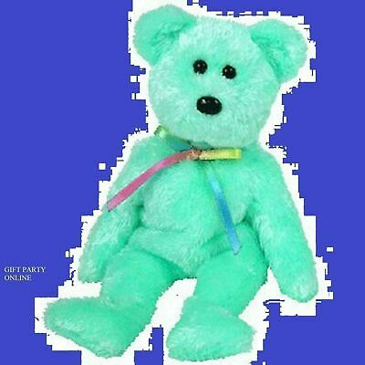 TY BEANIE BABY  SHERBET the Bear Raspberry Version Plush BUY NOW