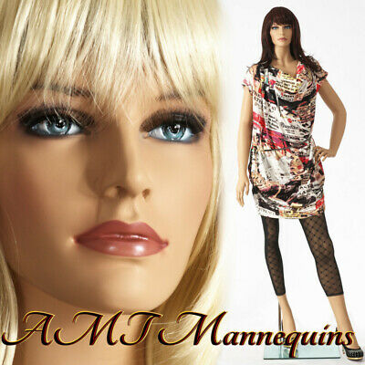 Female mannequin+stand,Hand made painted skin full body, realistic manikin - IVY