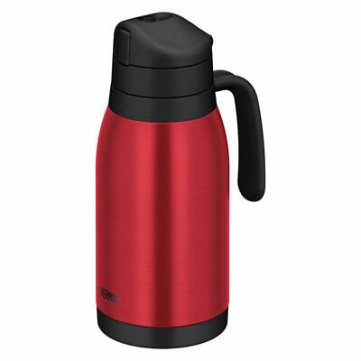 Thermos field pot 1500ml clear red THY-1500 CL-R Summer support