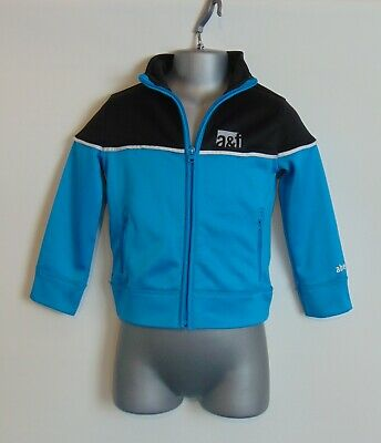 Abercrombie & Fitch Turquoise Blue Zip Through Track Suit Top Age 3/4