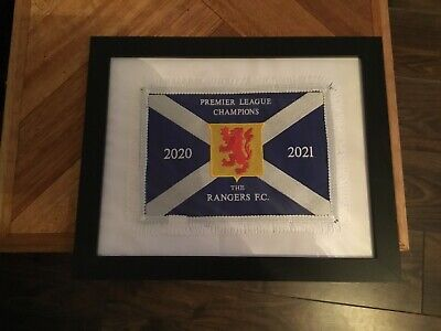GLASGOW RANGERS League Champions 55 Titles 2020 / 2021 Flag / Pennant -  £36.00 | PicClick UK