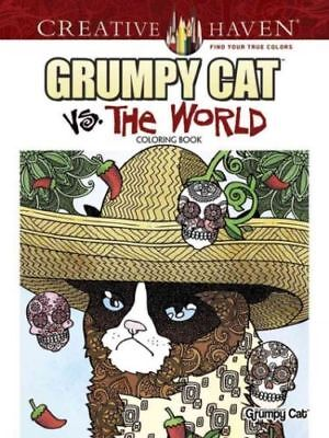 Grumpy Cat Vs.the World Coloring Book Brand New Free Shipping!