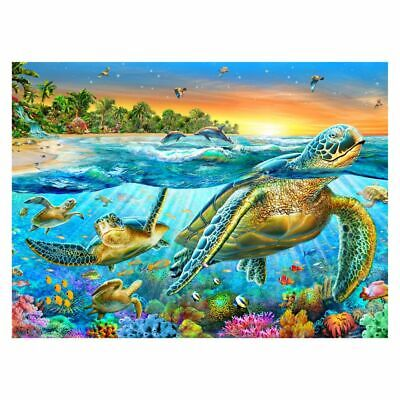 """Jigsaw Puzzle 100 Pieces Gold Edition /""""Freedom of The Seas/"""" by Wuundentoy"""