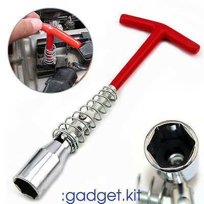 Size : A ffniwo Spark Plug Socket Wrench Spanner Tool