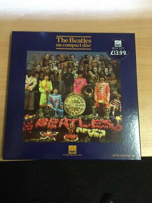 The Beatles-Sgt.peppers Lonely Hearts Club Band-Hmv Cd Box Set - Elp65
